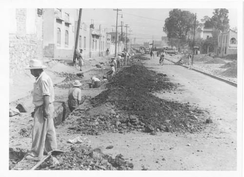 Imagen de Tubería en la Calzada Mariano Escobedo