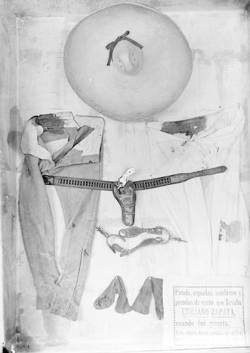Imagen de Prendas de vestir que portaba Emiliano Zapata cuando fue asesinado