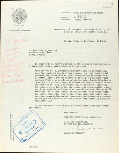 Imagen de Secretaría de Guerra y Marina