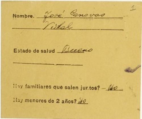 Imagen de Exilio español