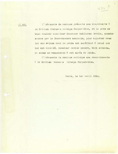 Imagen de Correspondencia