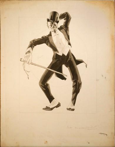 """Imagen de Bailarín negro en un """"rag-time"""""""