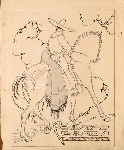 Imagen de Charro a caballo