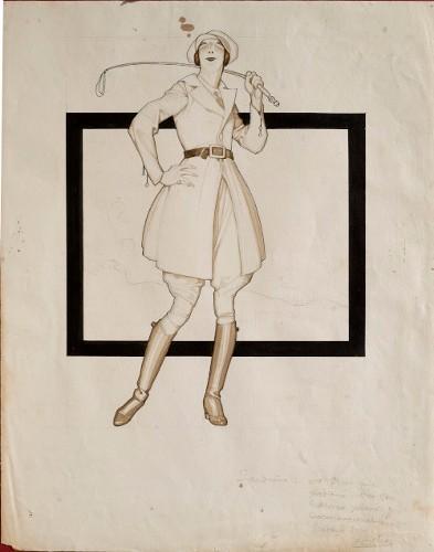 """Imagen de Figuras modernas: la """"sportwomen"""""""