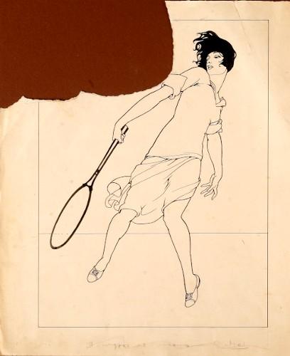 Imagen de En el campeonato de tennis