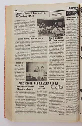 Imagen de Libro de Leticia Varela sobre yaquis, presentan (propio), Tribuna del Yaqui (alternativo)