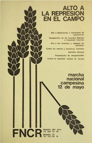 Imagen de Alto a la represión en el campo (propio)