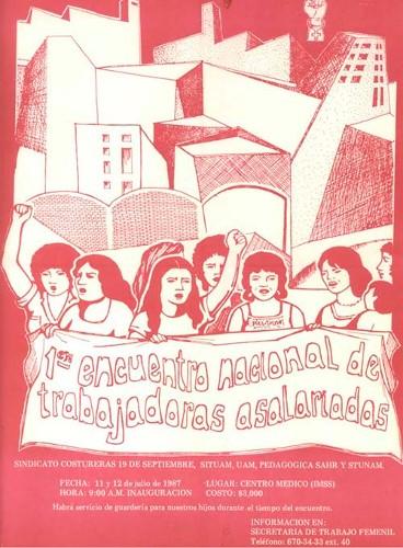 Imagen de Primer Encuentro Nacional de Mujeres Asalariadas (propio)