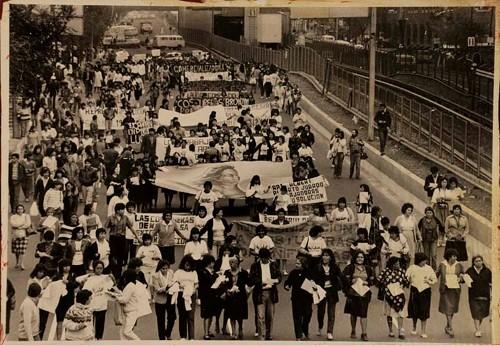 Imagen de Marcha del Sindicato de Costureras 19 de Septiembre 1985 (atribuido)