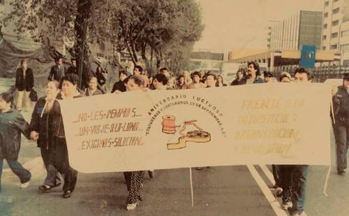 Imagen de Manifestación del Sindicato de Costureras 19 de Septiembre (atribuido)