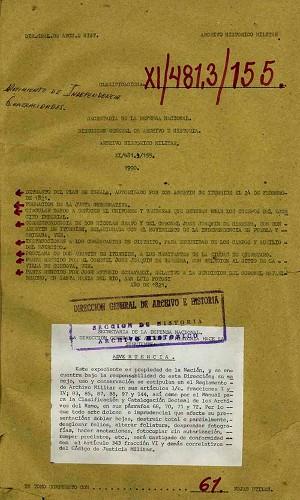 Imagen de Diversa documentación relativa a la Independencia de México, como la bandera, uniformes, Plan de Iguala y operaciones militares (atribuido)