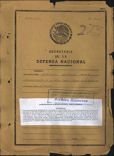 Imagen de Sublevación de yaquis y mayos en Sonora (atribuido)