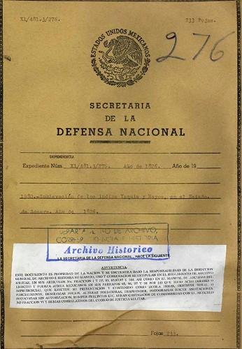 Imagen de Rebelión de los yaquis y mayos en Sonora (atribuido)