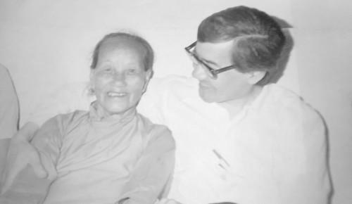 Imagen de Benjamín Wong y su tía en China (atribuido)