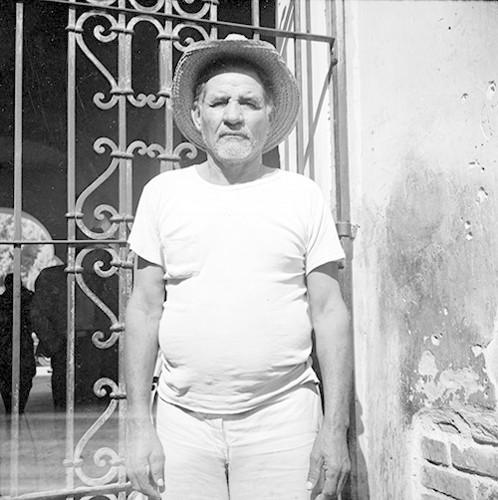 Imagen de Bracero junto a un herraje, retrato (atribuido)